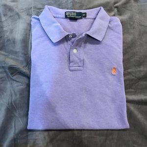 Polo by Ralph Lauren men's lavender polo shirt